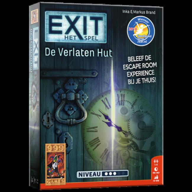 999 Games EXIT - De Verlaten Hut - Breinbreker