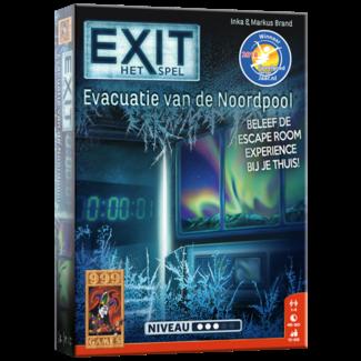 999 Games EXIT - Evacuatie van de Noordpool - Breinbreker