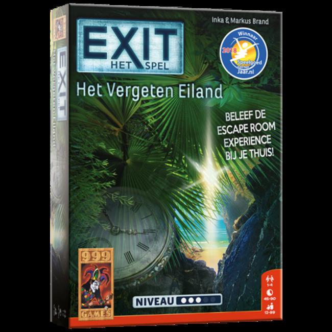 999 Games EXIT - Het Vergeten Eiland - Breinbreker