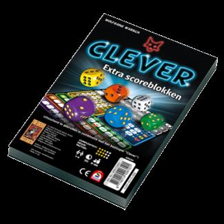 999 Games Scoreblokken Clever twee stuks - Dobbelspel