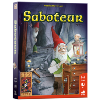 999 Games Saboteur Basisspel - Kaartspel