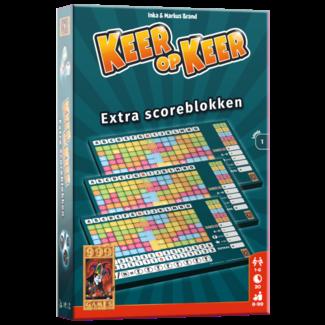 999 Games Keer op Keer Scoreblok - Level 1 (3st.)