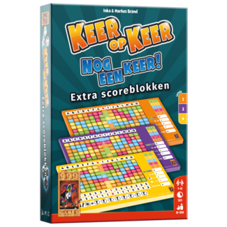 999 Games Keer op Keer Scoreblok - Level 2, 3 en 4 (3st.)