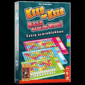 999 Games Keer op Keer Scoreblok - Level 5, 6 en 7 (3st.)