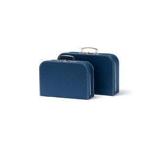 Kids Concept Koffertjes 2-set blauw