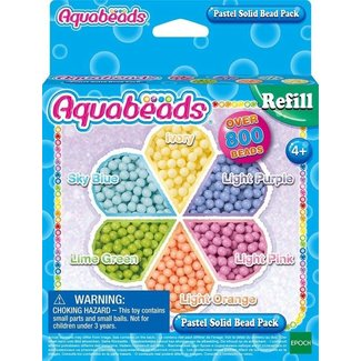 Aquabeads Navulling pastel parels (Nieuw!)