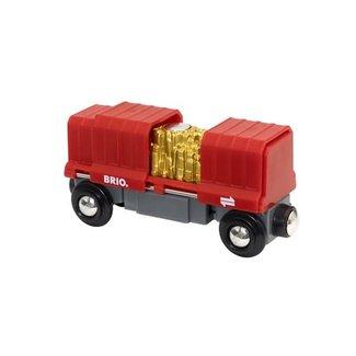 BRIO Vrachtwagon met goudlading