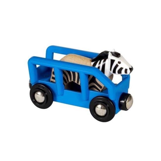BRIO Zebra en wagon