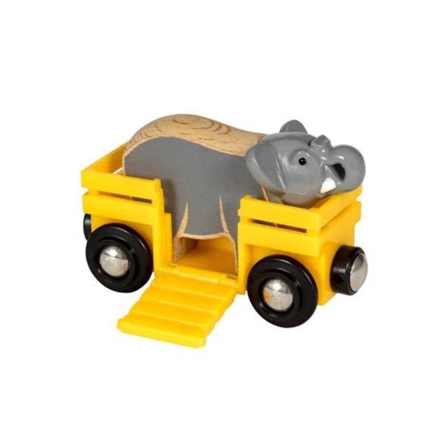 BRIO Olifant en wagon