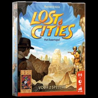 999 Games Lost Cities: Het Kaartspel - Kaartspel