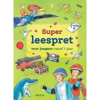 Deltas Super leespret voor jongens vanaf 7 jaar