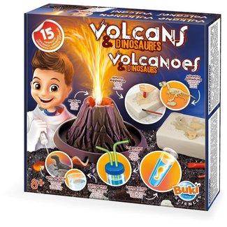 BUKI Vulkanen en dinosaurus