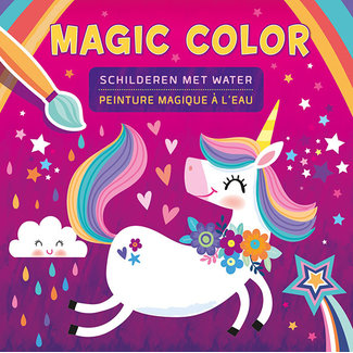 Deltas Unicorn magic color - schilderen met water
