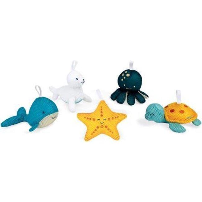 Bad speelgoed inktvis