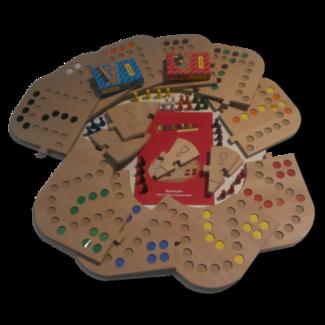 keezbord Totaalbox hout