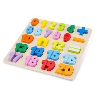 Puzzels, Houten puzzels - educatieve puzzel getallen