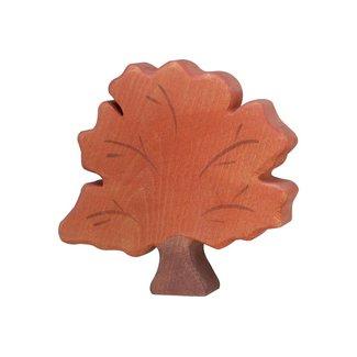 Holztiger bosdieren:herfstboom14x2x13cm,hout
