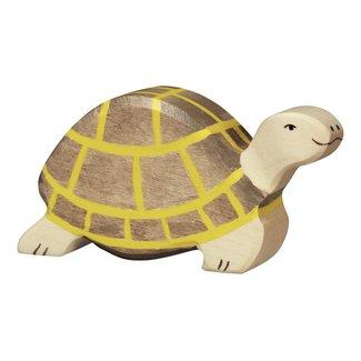 Holztiger Wildernis:schildpad10x2x5cm,hout