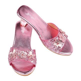 Souza! Schoentjes met hak Mariona, roze metallic - maat 27/28
