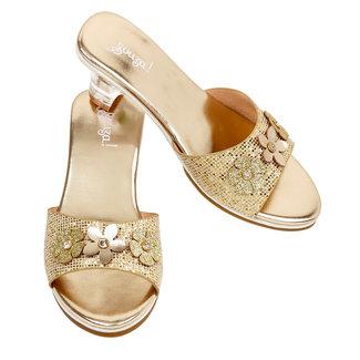 Souza! Slipper h.heel Ellina, gold metallic sz 30/31 (1 pair)