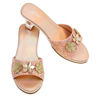 Souza! Slipper h.heel Clarisse, salmon metallic sz 27/28 (1 pair)