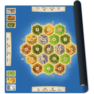 999 Games Catan playmat Gold