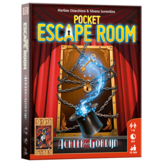 999 Games Pocket Escape Room: Achter het Gordijn