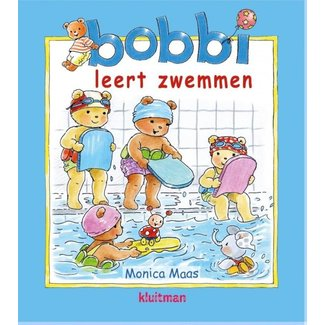 Kluitman Bobbi leert zwemmen