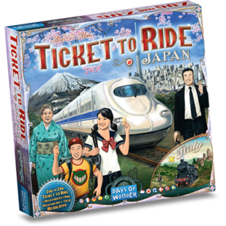 Day of Wonder Ticket to ride  Japan