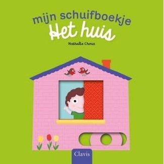 Clavis Mijn schuifboekje: Het huis (kartonboek)