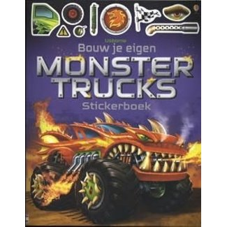 Usborne Stickerboek: Bouw je eigen monstertrucks