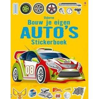 Usborne Stickerboek: Bouw je eigen auto's