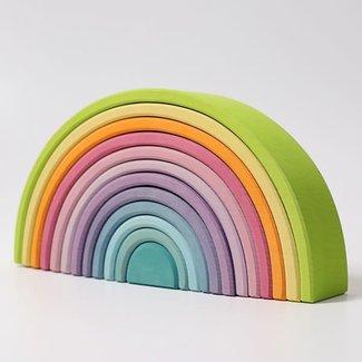 Regenboog pastel (groot)