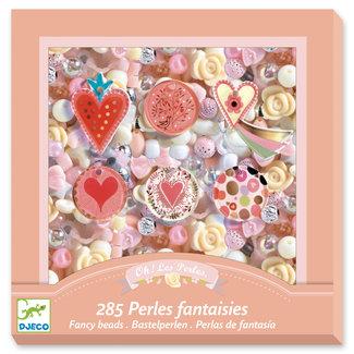 Djeco Djeco Needlework - Beads and jewellery Hearts