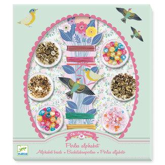 Djeco Djeco Needlework - Beads and jewellery Alphabet beads