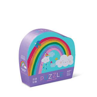 12 pcs Mini Puzzle/Rainbow