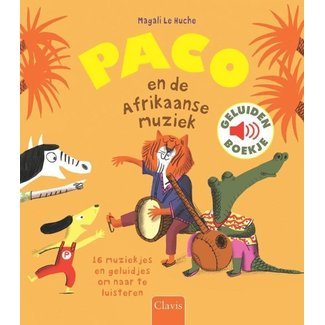 Clavis Paco en de Afrikaanse muziek (geluidenbo