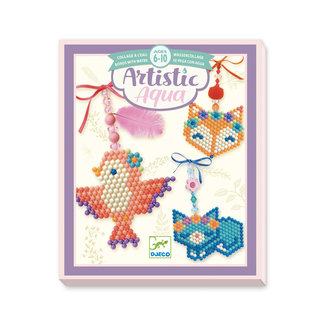 Djeco Djeco For older children  - Collages Artistic aqua - Country charm