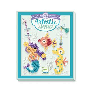 Djeco Djeco For older children  - Collages Artistic aqua - Sea charm