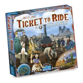 Day of Wonder Ticket to Ride - France/Old West
