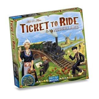 Day of Wonder Ticket to Ride - Nederland