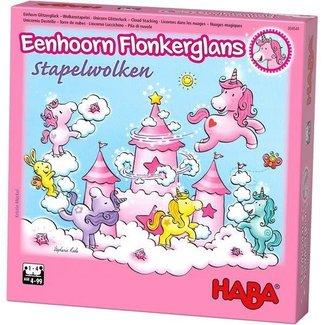 HABA Eenhoorn Flonkerglans - Stapelwolken