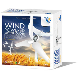 PlaySTEAM Wind Turbine Motor Glider