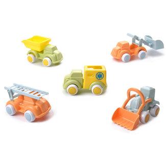 Viking Toys Ecoline - Vrachtwagen mix in display