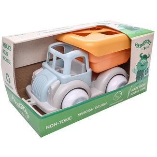 Viking Toys Ecoline - Vrachtwagen vormenstoof recycling