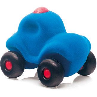 Rubbabu Kleine politieauto blauw