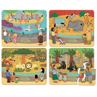 Vilac Houten puzzel - dierentuin
