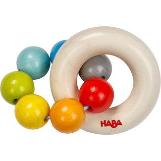 HABA Rammelaar Kleurrijke knikkers