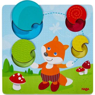 HABA Puzzels, Houten puzzels - voelpuzzel Vos