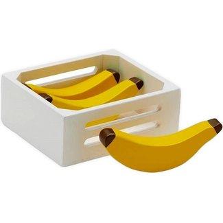 Kids Concept Houten bananen in kistje